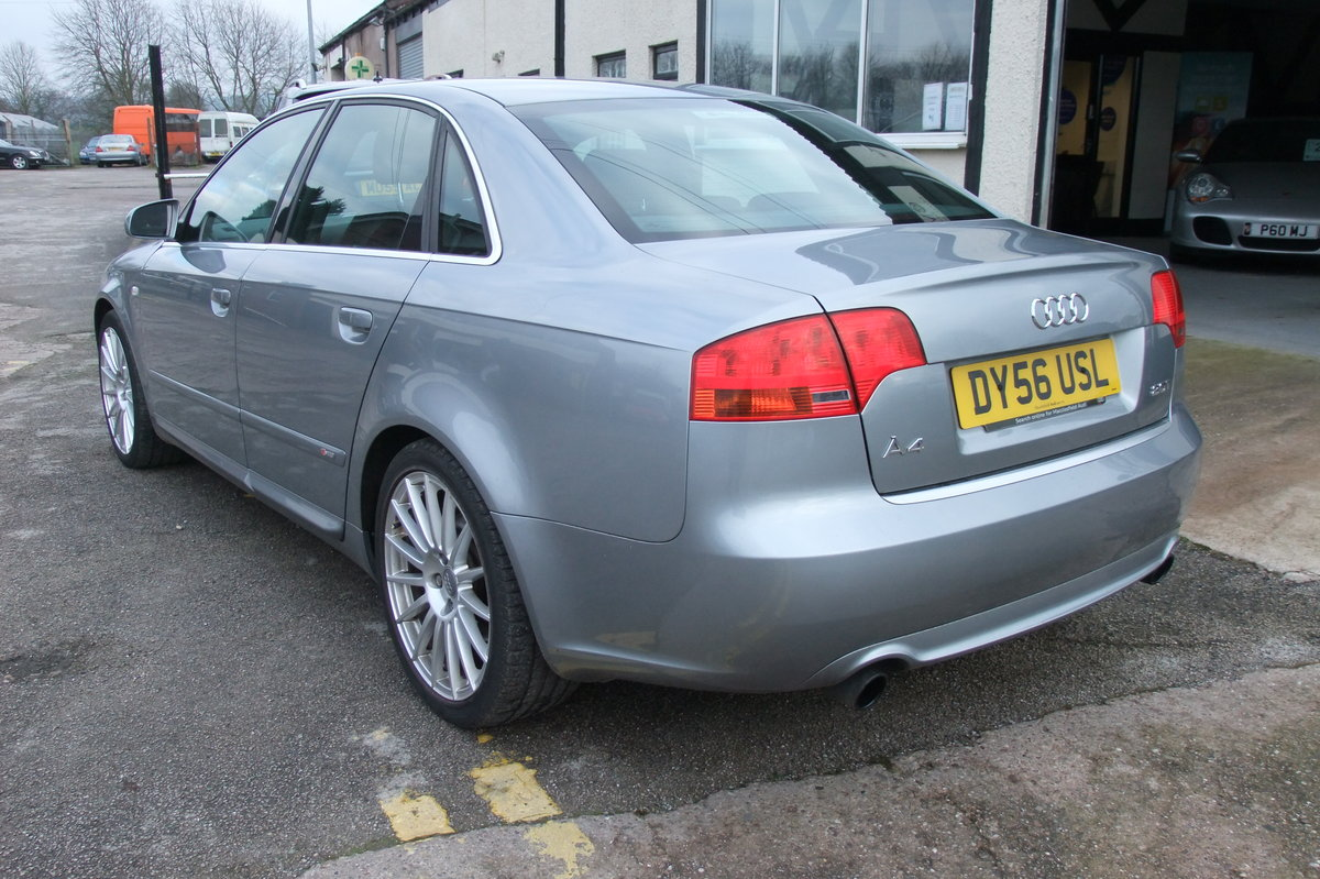 2006 AUDI A4 2.0 T S LINE SPECIAL EDITION 4DR SOLD (picture 3 of 6)