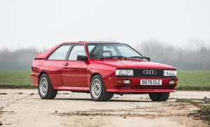 1987 Audi UR Quattro 78,941 miles Just £25,000 - £30,000 For Sale by Auction