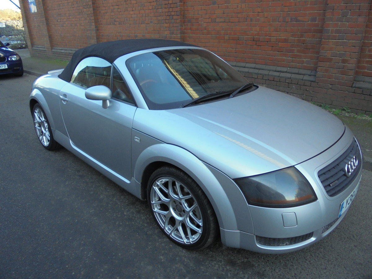 2001 audi tt 225 bhp convertable For Sale (picture 1 of 6)