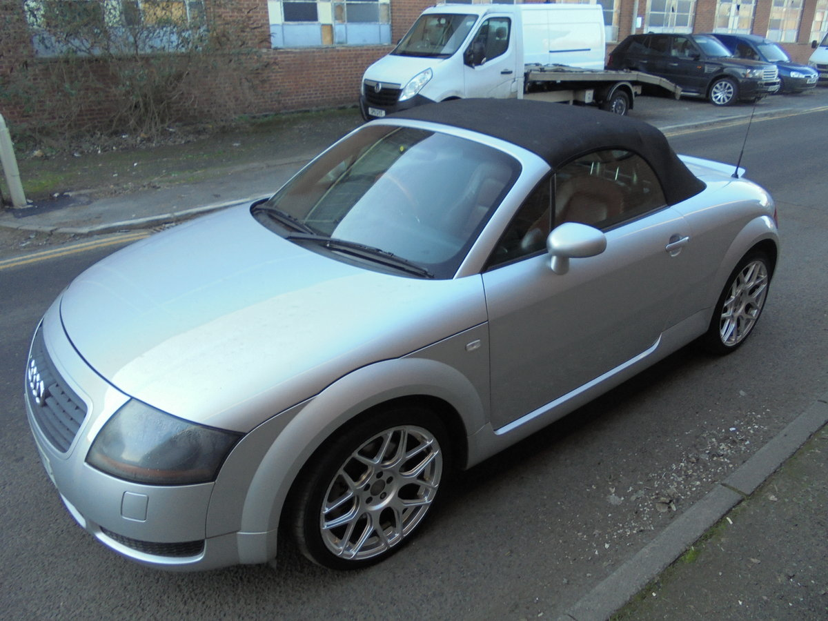 2001 audi tt 225 bhp convertable For Sale (picture 2 of 6)
