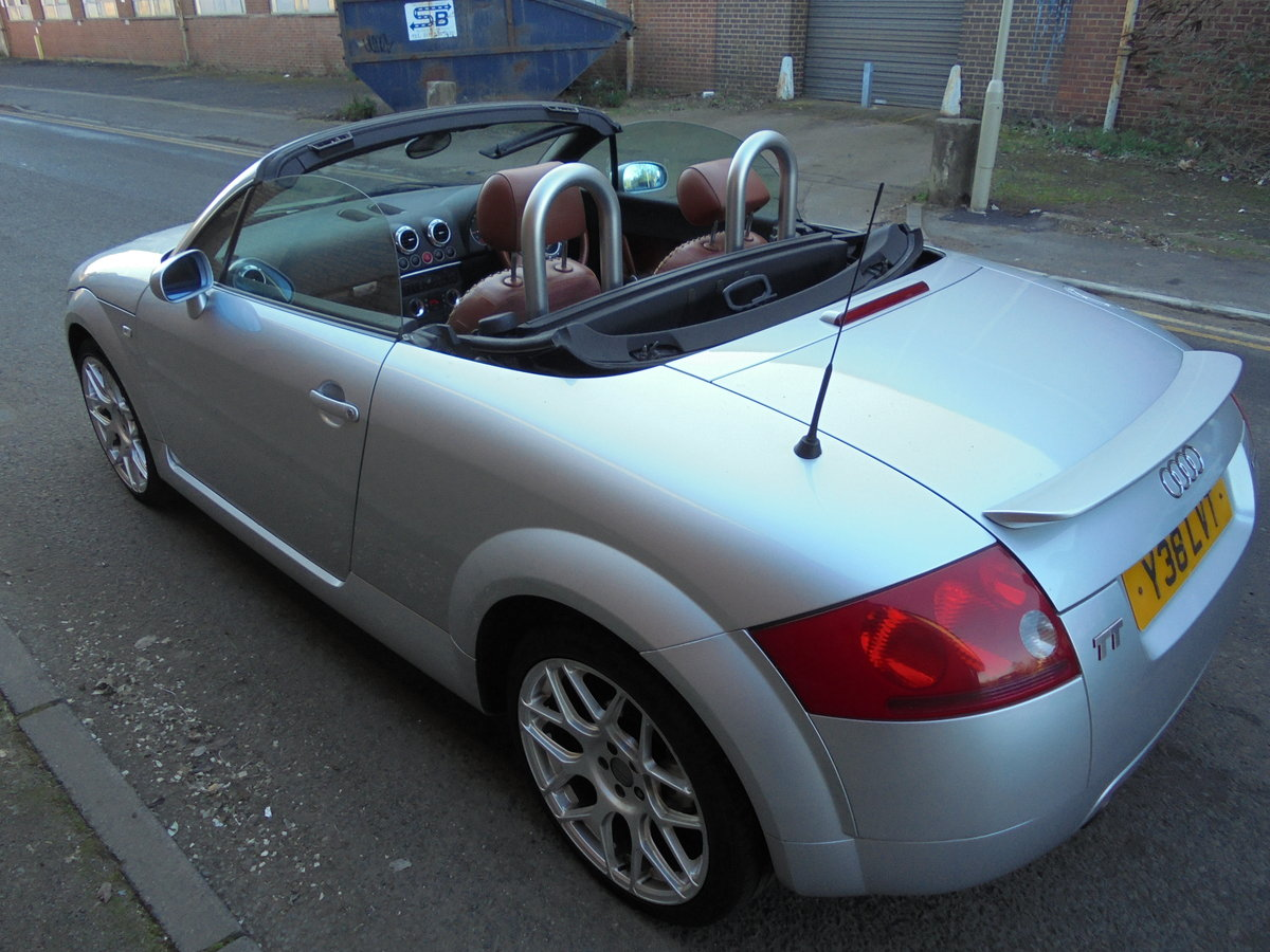 2001 audi tt 225 bhp convertable For Sale (picture 3 of 6)