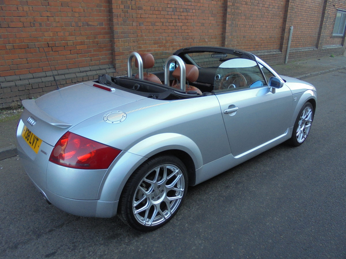 2001 audi tt 225 bhp convertable For Sale (picture 4 of 6)