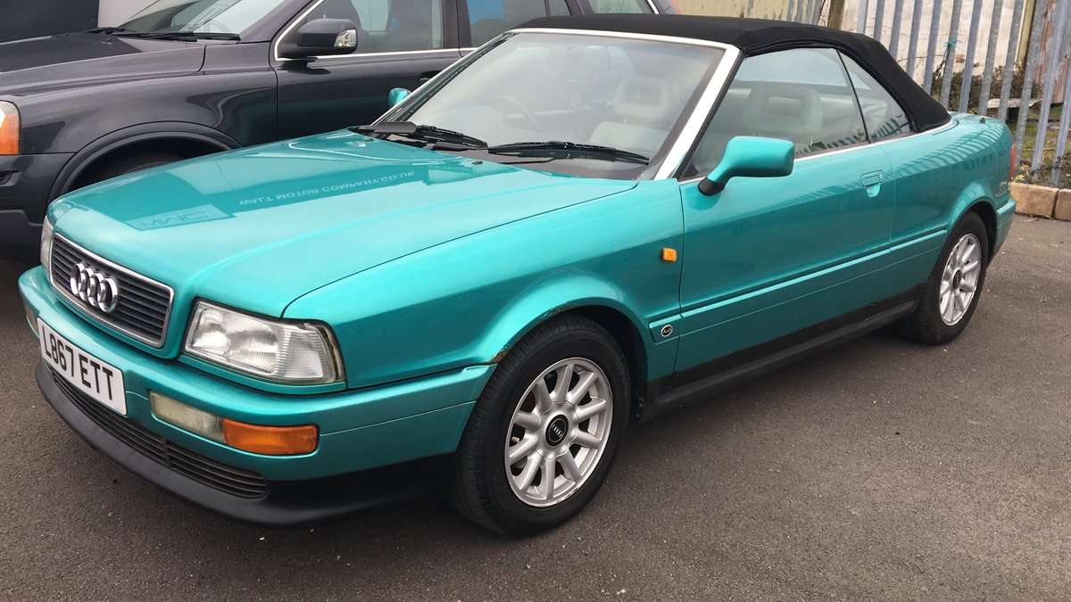 1994 Audi Cabriolet Automatic 2.6 in Green SOLD (picture 1 of 6)