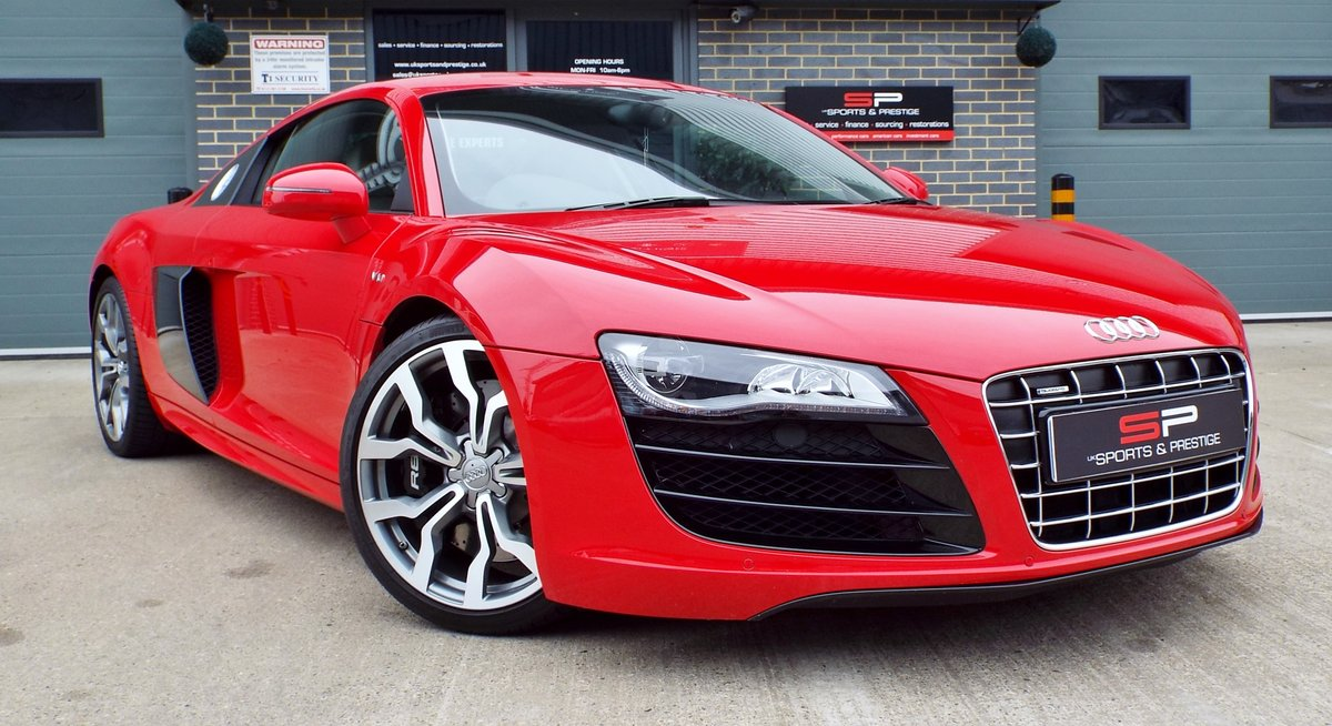 2010 Audi R8 5.2 V10 Manual Low Miles Great Example  For Sale (picture 1 of 6)