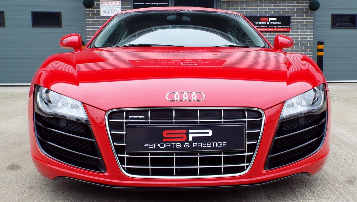 2010 Audi R8 5.2 V10 Manual Low Miles Great Example  For Sale (picture 2 of 6)