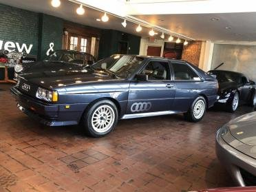 1985 Audi Ur Quattro = 2.1 Liter Turbo Five Blue(~)Grey $55.9k For Sale (picture 1 of 6)