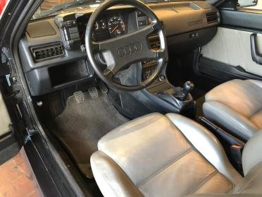 1985 Audi Ur Quattro = 2.1 Liter Turbo Five Blue(~)Grey $55.9k For Sale (picture 5 of 6)