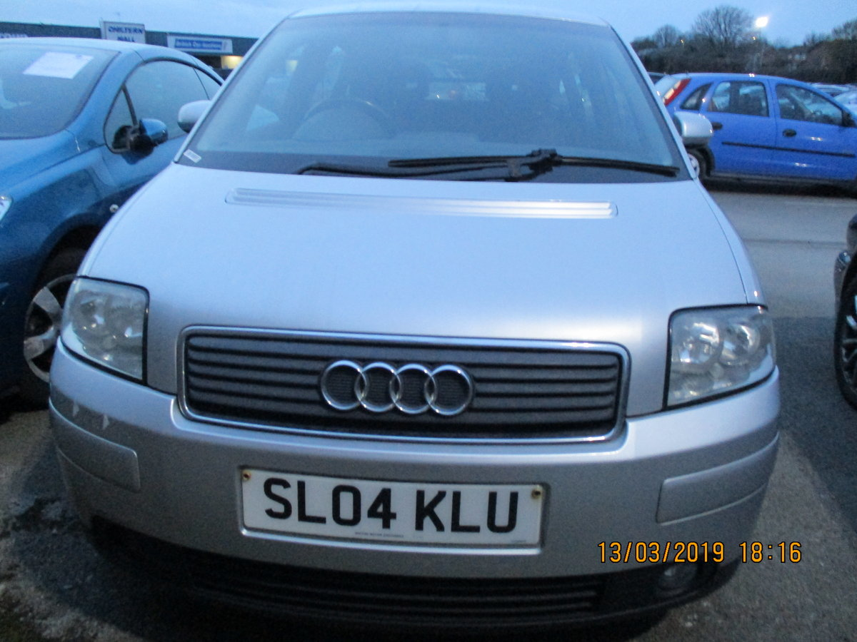 2004 VALUE SMALL AUDI A2 1600cc FSI 5 SPEED MANAUL FEB 2020 MOT For Sale (picture 1 of 4)