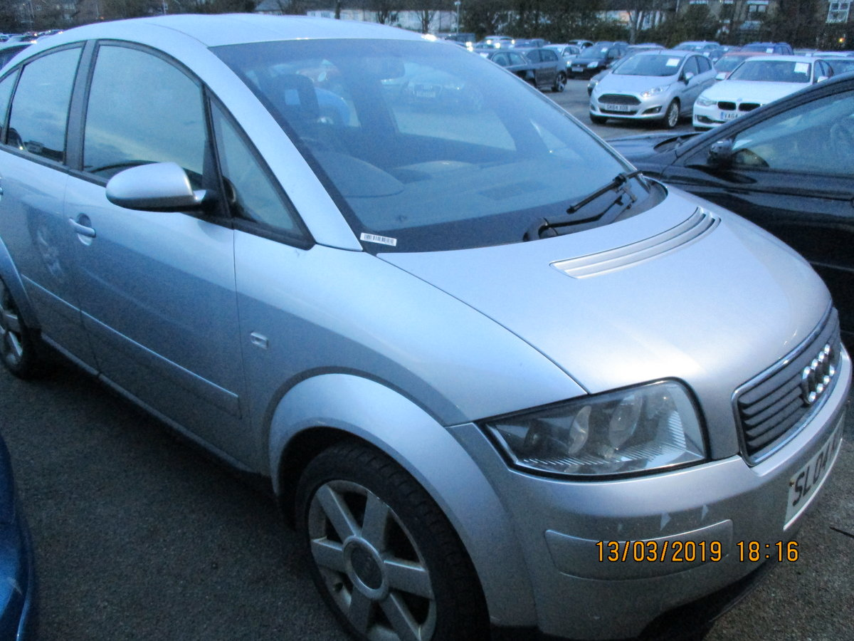 2004 VALUE SMALL AUDI A2 1600cc FSI 5 SPEED MANAUL FEB 2020 MOT For Sale (picture 2 of 4)