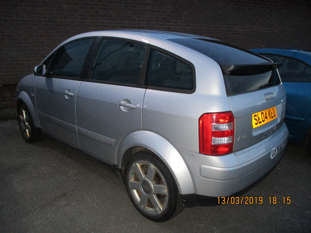 2004 VALUE SMALL AUDI A2 1600cc FSI 5 SPEED MANAUL FEB 2020 MOT For Sale (picture 3 of 4)