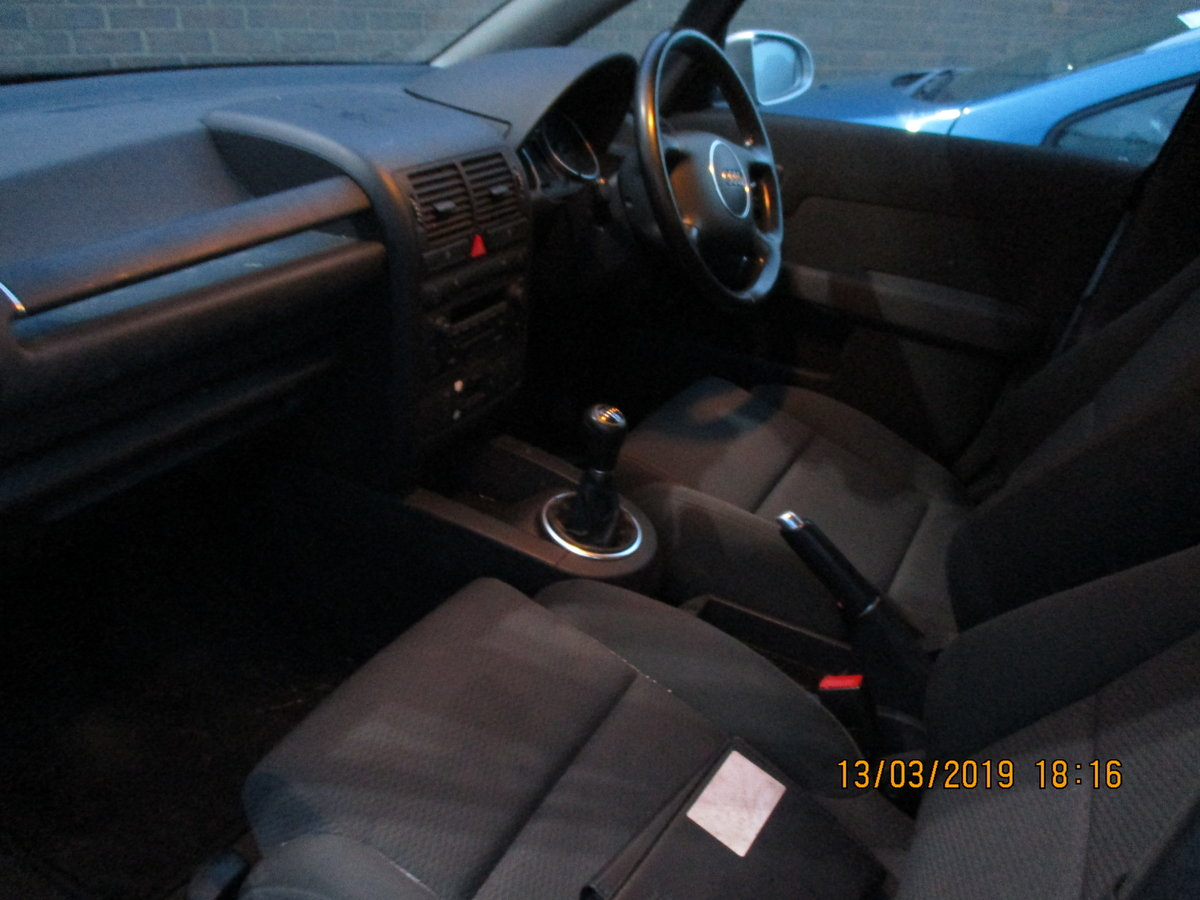 2004 VALUE SMALL AUDI A2 1600cc FSI 5 SPEED MANAUL FEB 2020 MOT For Sale (picture 4 of 4)