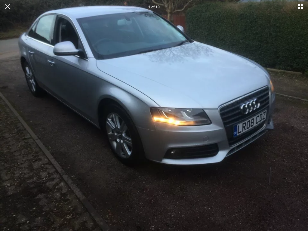 2008 Audi A4 2.0 tdi se 6 speed manual For Sale (picture 1 of 6)