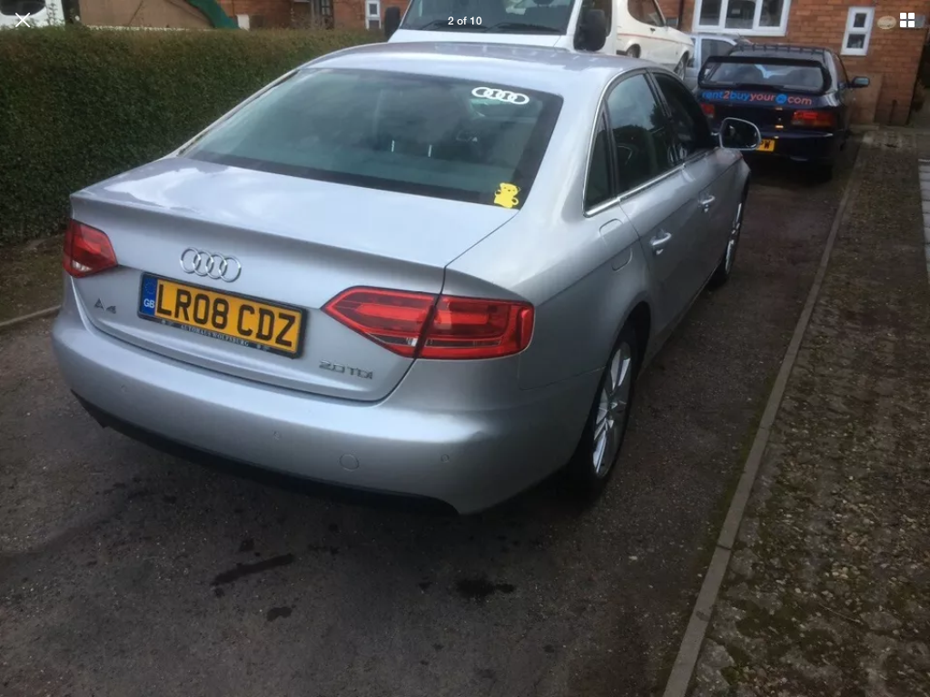 2008 Audi A4 2.0 tdi se 6 speed manual For Sale (picture 2 of 6)