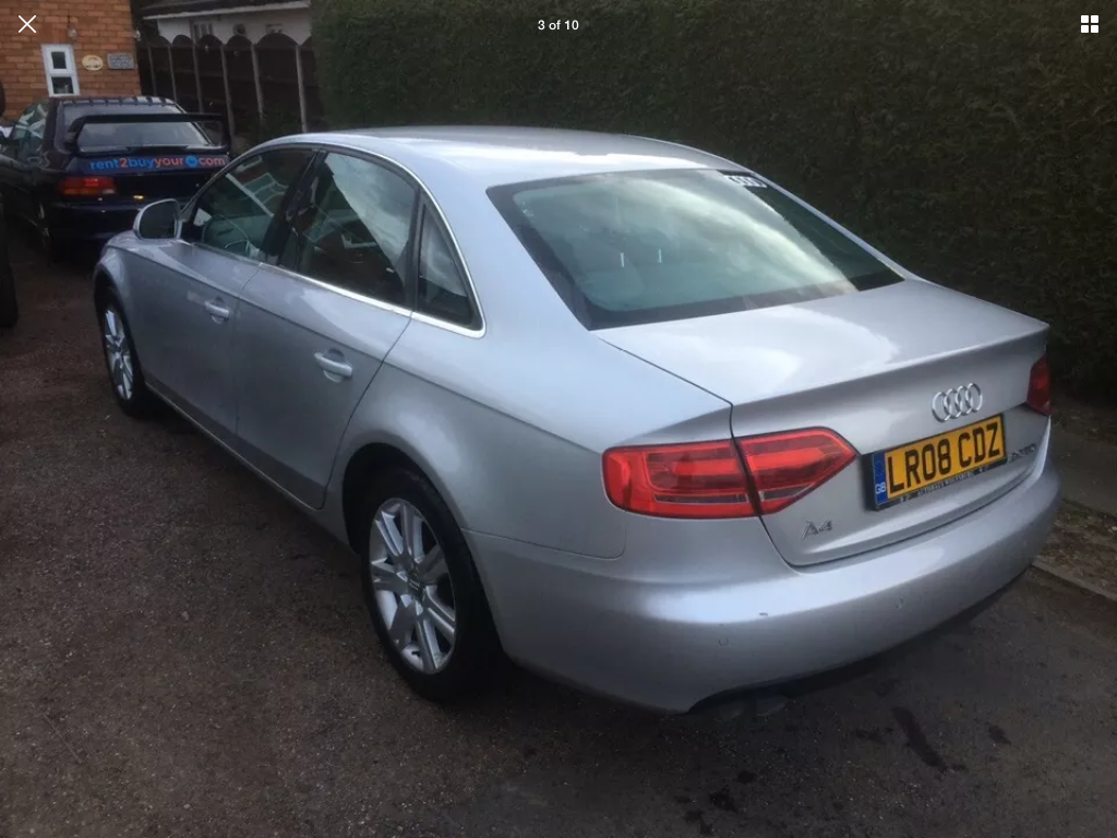 2008 Audi A4 2.0 tdi se 6 speed manual For Sale (picture 3 of 6)