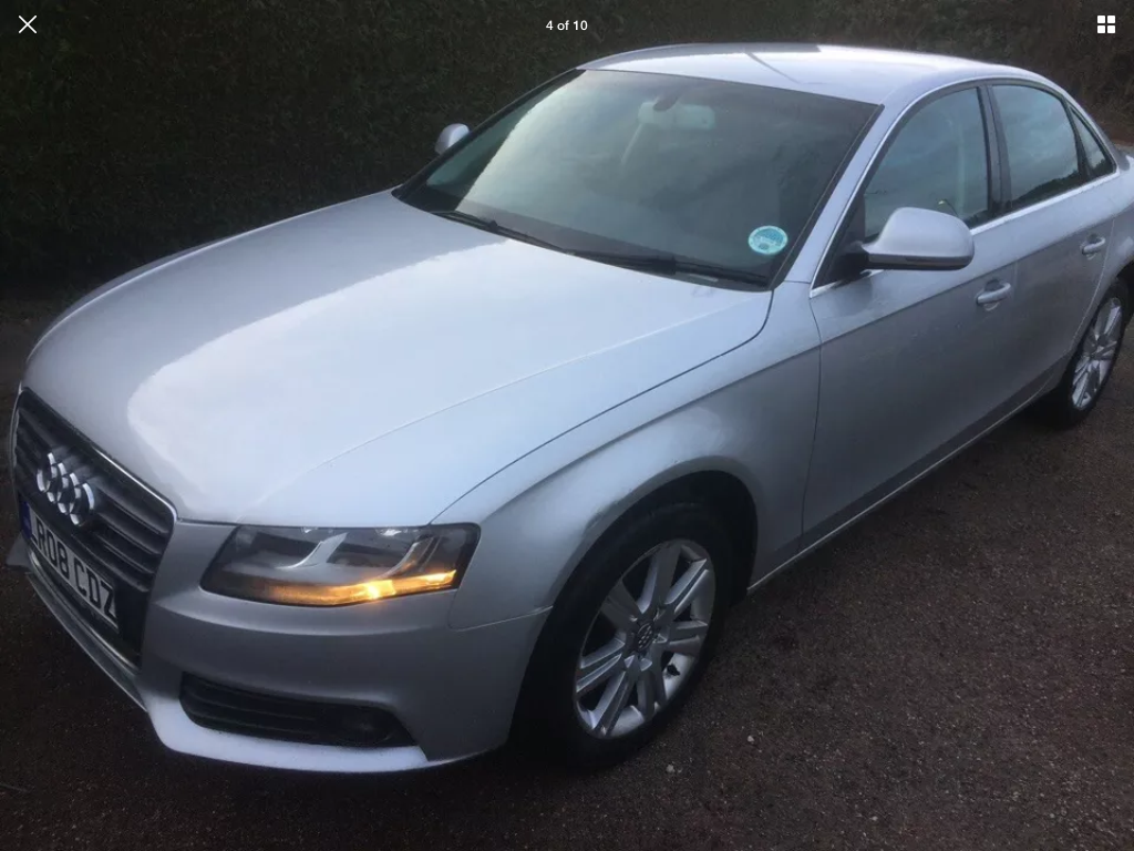 2008 Audi A4 2.0 tdi se 6 speed manual For Sale (picture 4 of 6)