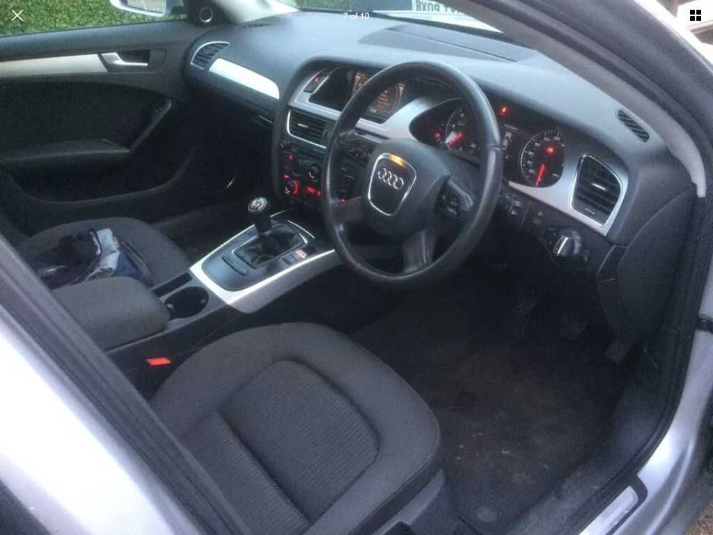 2008 Audi A4 2.0 tdi se 6 speed manual For Sale (picture 5 of 6)