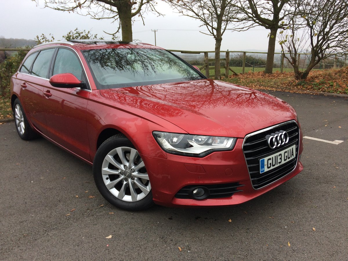 A6 Avant 2013 FSH with Audi, Pan Roof, Towbar For Sale (picture 1 of 6)