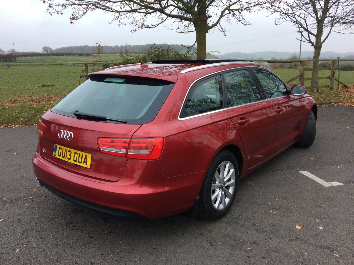 A6 Avant 2013 FSH with Audi, Pan Roof, Towbar For Sale (picture 2 of 6)