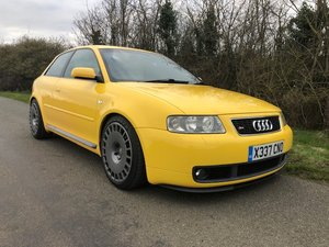 2001 Audi S3 QUATTRO 1.8 with many upgrades