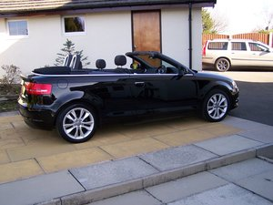 EXCELLENT 2012(62-reg.) AUDI A3 1.2 SPORT TFSI  CONVERTIBLE