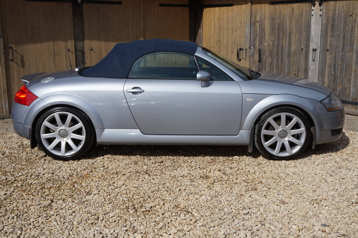 2002 AUDI TT 1.8 225 QUATTRO ROADSTER RARE LOW MILEAGE 57K For Sale (picture 3 of 6)