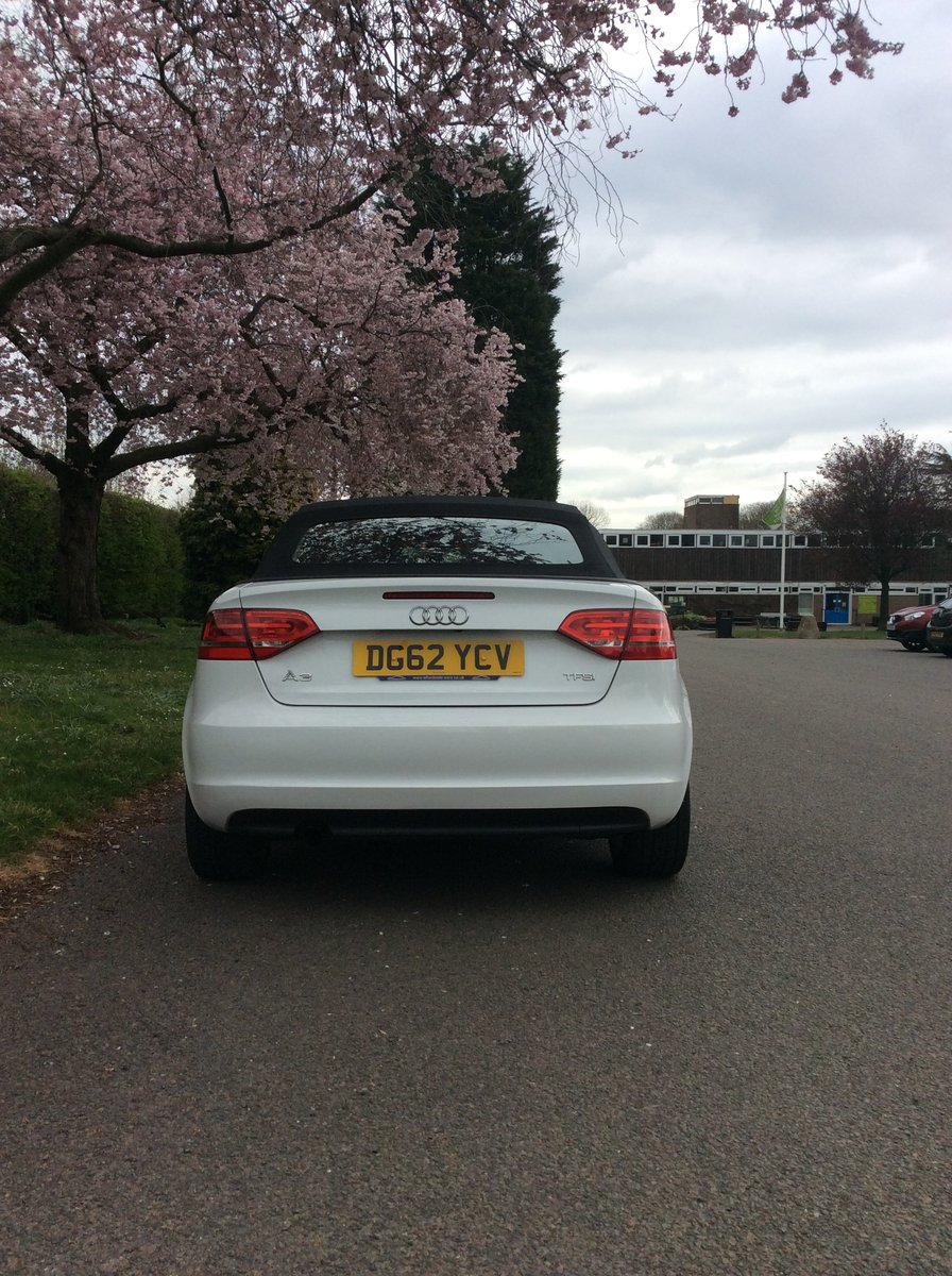 2012 Audi A3 convertable 1.2 TFSI Sport For Sale (picture 3 of 6)
