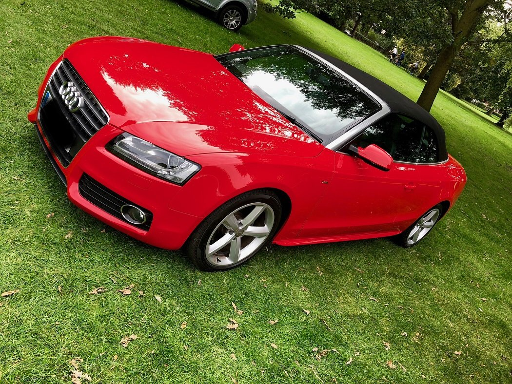 2011 A5 Cabriolet 2.0 TDI S line Cabriolet  For Sale (picture 1 of 6)