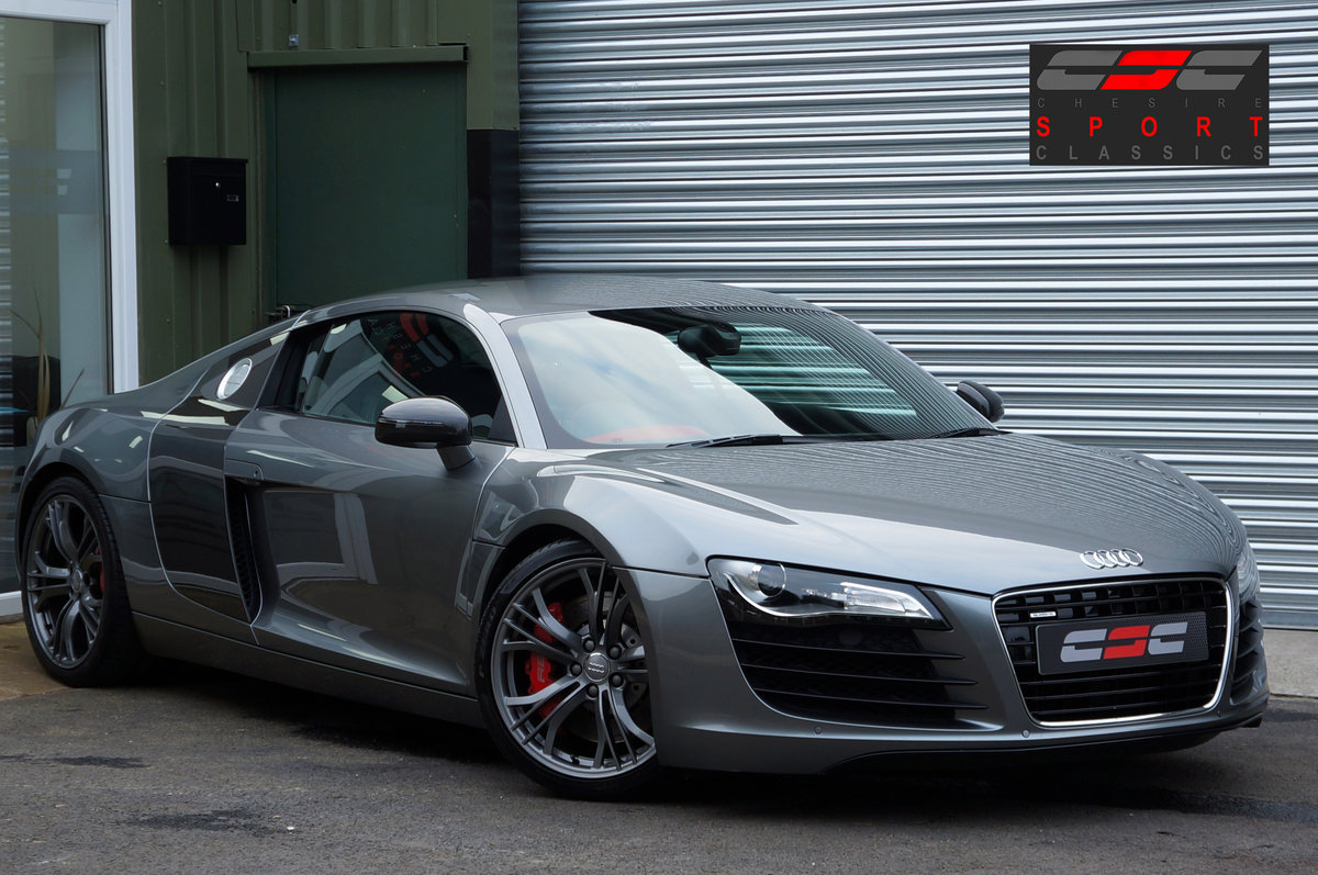 2012 Audi R8 4.2 V8 Le Mans Edition, Manual, 25k, FASH, Mag Ride. For Sale (picture 1 of 6)