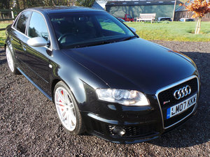 2007 Audi RS4 Saloon 4.2 quattro Wing Backs-FSH-Navigation