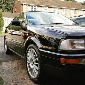 1990 audi coupe quattro 2.3 20v For Sale