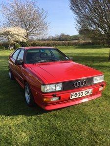 1988 Audi Quattro UR 10 Valve MB Engine
