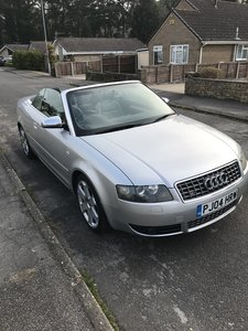 2004 Audi S4 cabriolet - wonderful 4.2 v8!