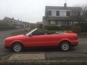 Audi 80 Cabriolet 1.8 1998 S-reg For Sale