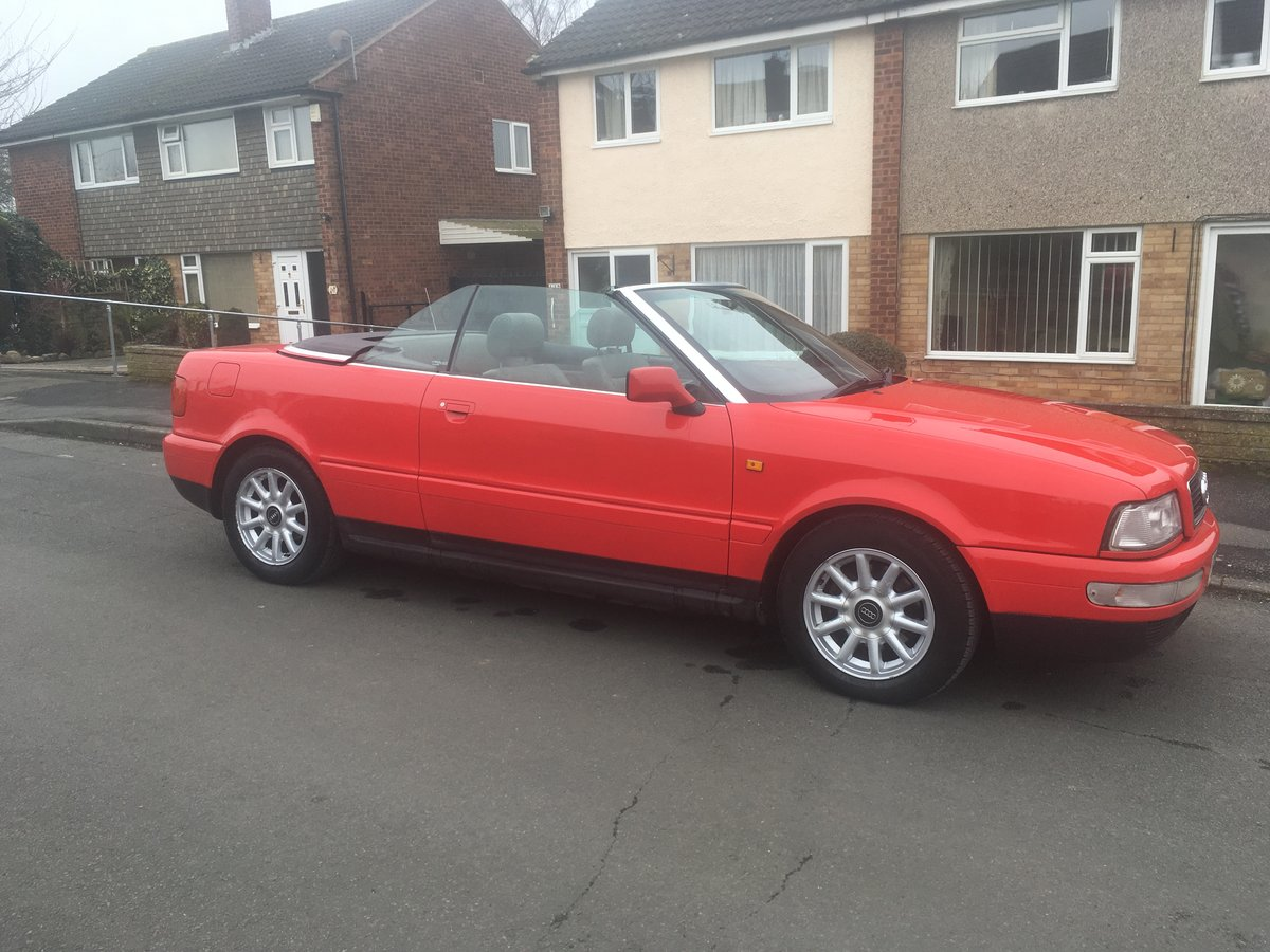 Audi 80 Cabriolet 1.8 1998 S-reg For Sale (picture 5 of 6)