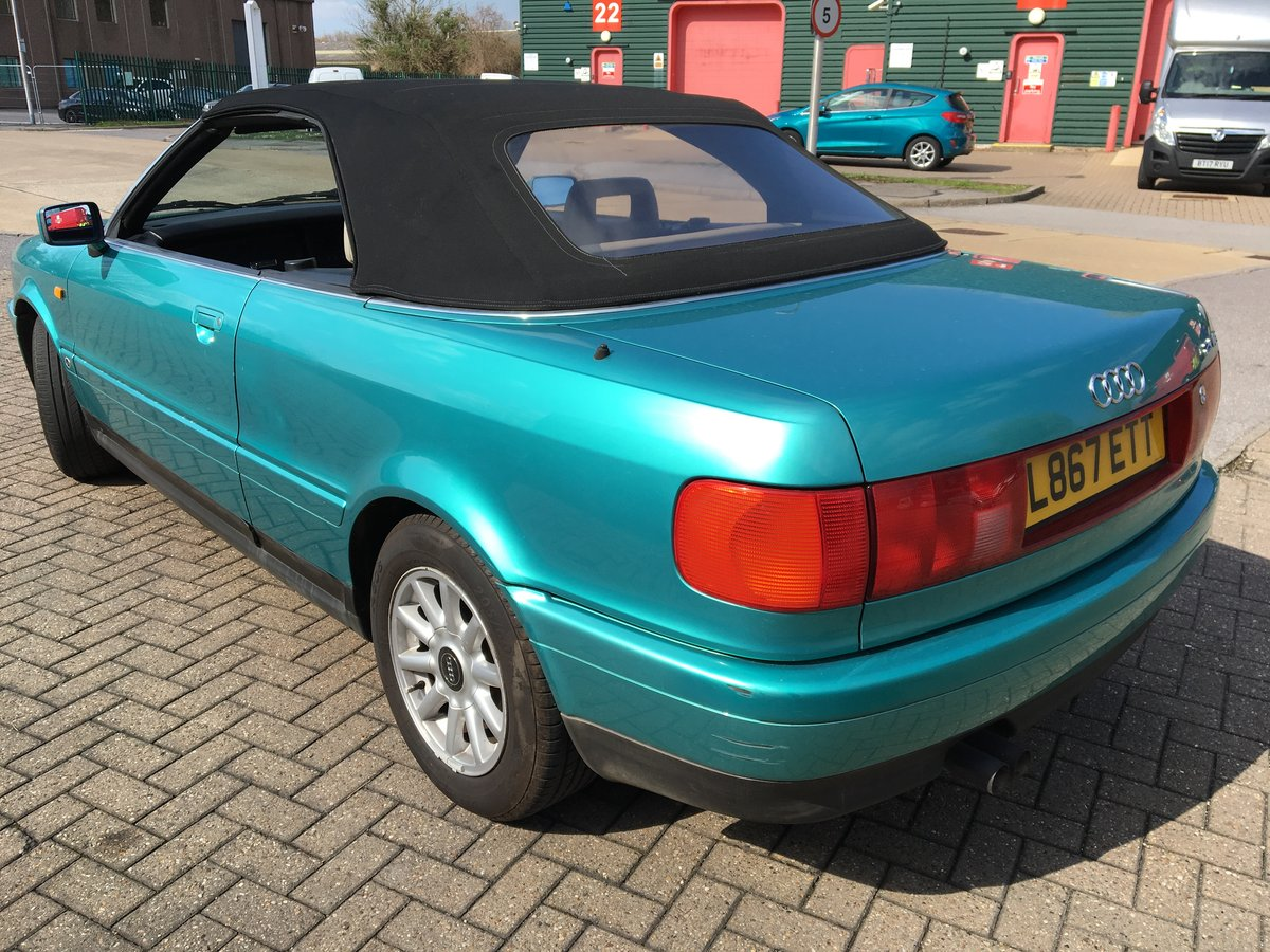 1994 Audi Cabriolet Automatic 2.6 in Green SOLD (picture 2 of 6)