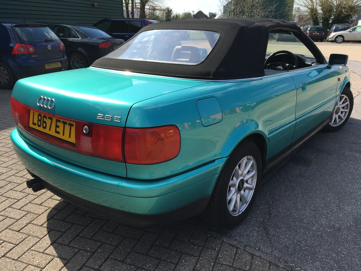 1994 Audi Cabriolet Automatic 2.6 in Green SOLD (picture 3 of 6)