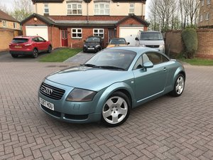 2001 Audi TT 225 bhp*Rare Pearlescent Jaspis Green*Quattro* For Sale