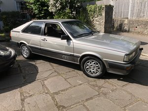 1983 Audi Coupe  68,5000 miles - £5,000 - £7,000 For Sale by Auction