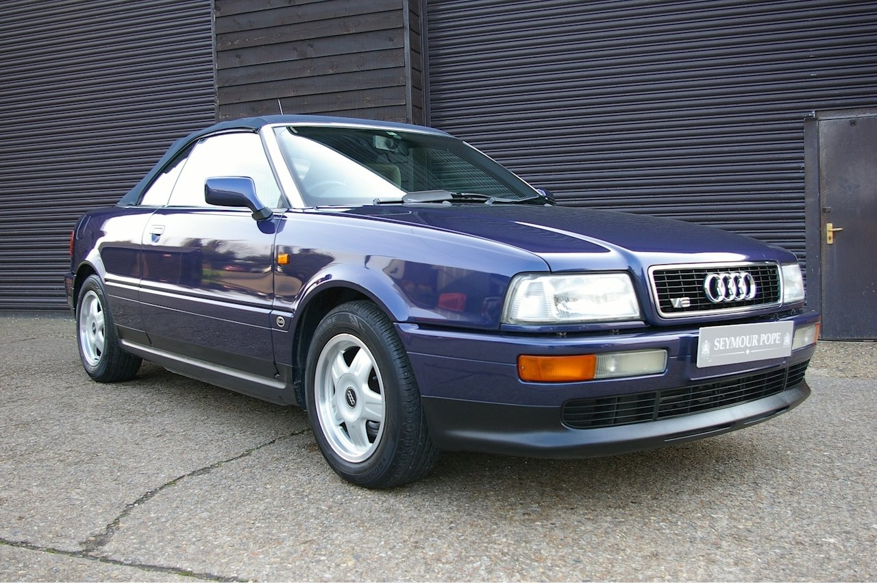 1997 Audi Cabriolet 2.6 E 2dr Automatic (53,068 miles) SOLD (picture 1 of 6)