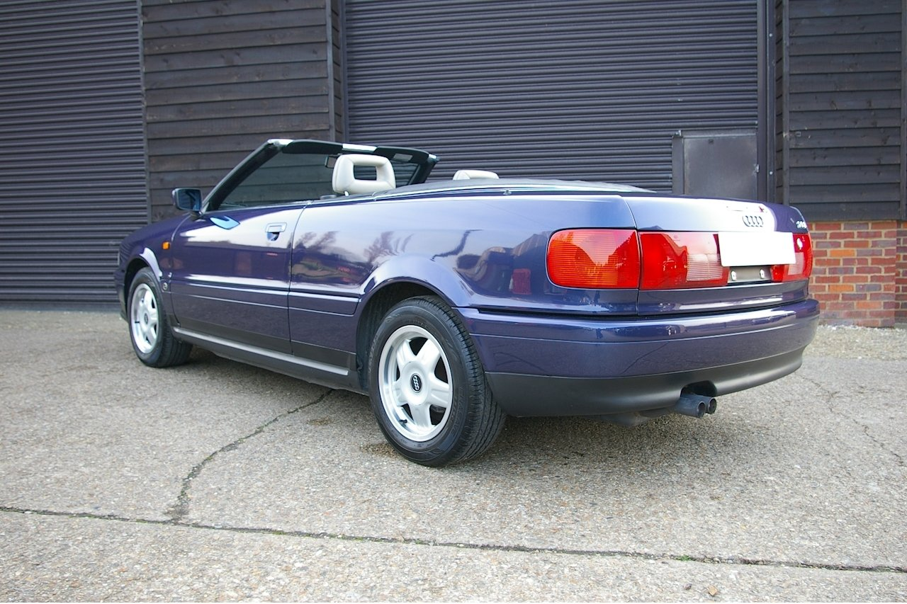 1997 Audi Cabriolet 2.6 E 2dr Automatic (53,068 miles) SOLD (picture 3 of 6)