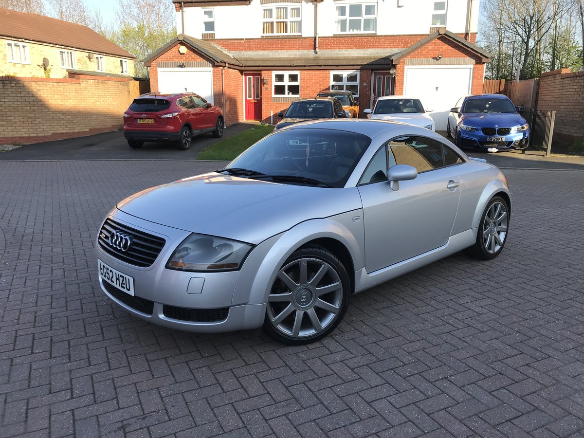 2002 Audi TT 225 bhp*Quattro*Only 104k*BOSE*Full Leather*VGC SOLD (picture 1 of 6)
