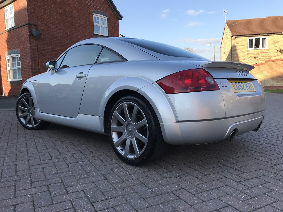 2002 Audi TT 225 bhp*Quattro*Only 104k*BOSE*Full Leather*VGC SOLD (picture 2 of 6)