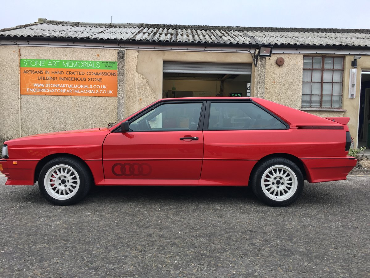Audi Ur Quattro Turbo Wr 1985 Sold On Car And Classic Uk