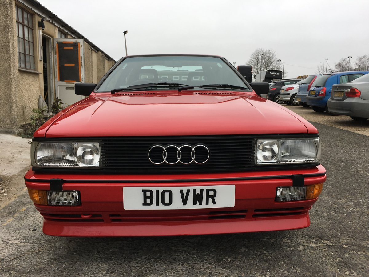 1985 Audi Quattro UR WR fully restored For Sale (picture 3 of 6)