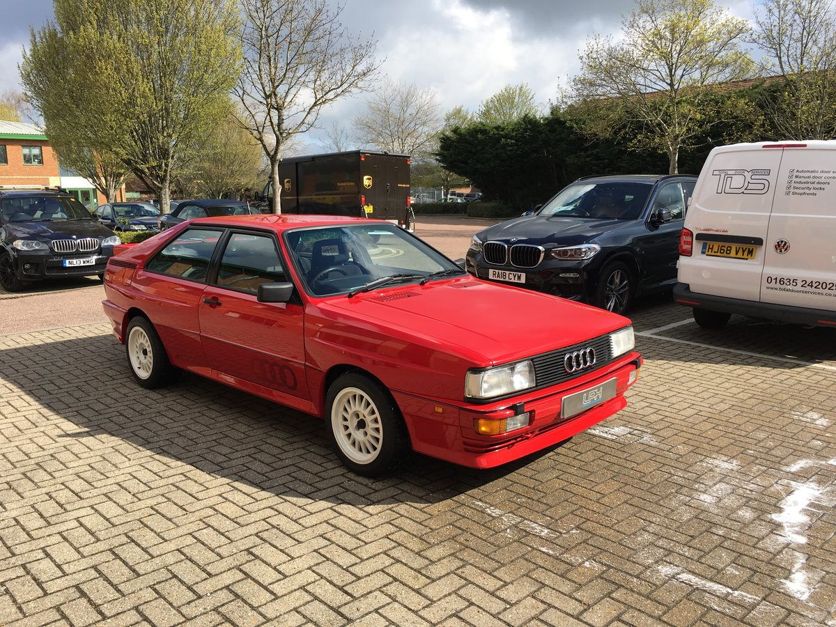 1985 Audi Quattro UR WR fully restored For Sale (picture 6 of 6)