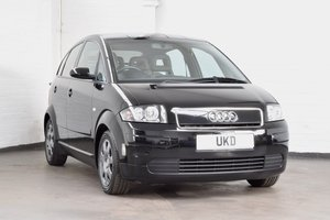 AUDI A2 1.4 TDI BLACK 5DR 2001 LOW MILEAGE