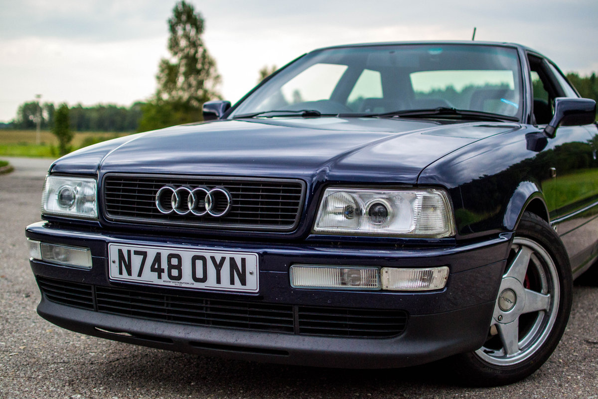 1995 Audi Coupe 2.6 V6 SOLD (picture 1 of 6)