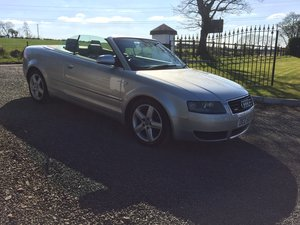 2000 2004 Audi A4 Convertable For Sale