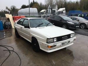 1984 Audi Ur Quattro Sunroof For Sale