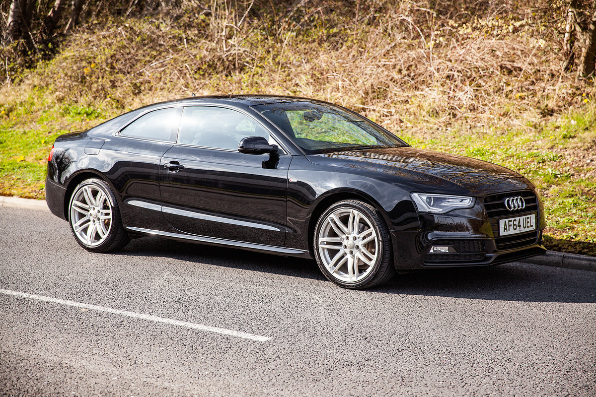 2014 AUDI A5 SLine  Immaculate | FASH | Low Miles For Sale (picture 1 of 6)